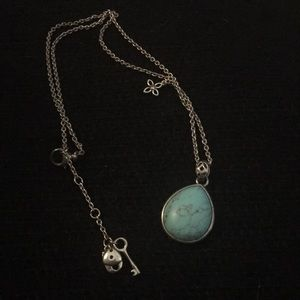Fossil Turquoise Necklace